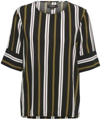 Soaked In Luxury Soaked in Luxury - Blouse Marja Black Stripe - Stripe / XS