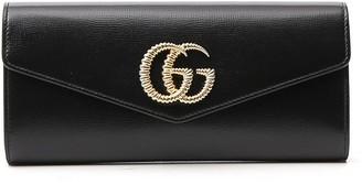 Gucci Broadway GG Logo Clutch