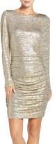 Vince Camuto Women's Metallic Knit Sheath Dress