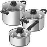 Kuhn Rikon Taste Cookware Set, Silver, 1.5/3.7/5.9 Litre