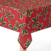 The Big One® Red Holly Tablecloth