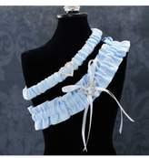 Cathy's Concepts Women's 'Blue Crush' Wedding Garter
