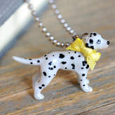 Undercover Dalmatian Charm Necklace