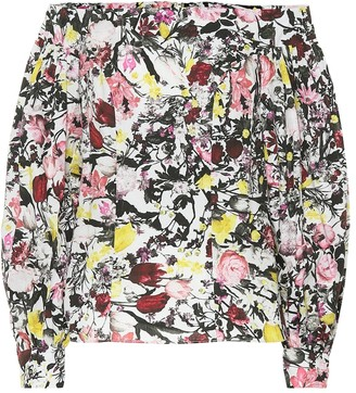 Erdem Dayla floral cotton top