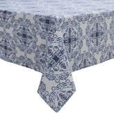 Sur La Table Blue Tile Tablecloth