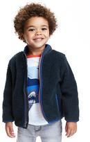Old Navy Full-Zip Sherpa Jacket for Toddler