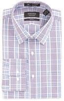 Nordstrom Men's Big & Tall Smartcare(TM) Trim Fit Plaid Dress Shirt