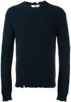 MSGM distressed jumper - men - Cotton - S