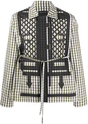 Craig Green Geometric-Print Long-Sleeved Shirt