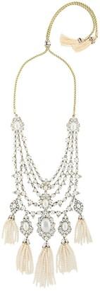Marchesa bohemian dream collar necklace