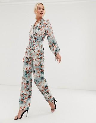 UNIQUE21 floral print pants-Multi