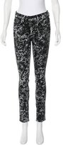 Proenza Schouler Printed Skinny Jeans w/ Tags