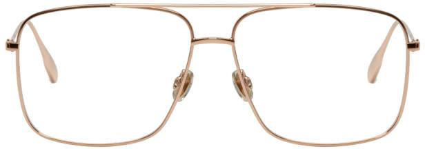Christian Dior Gold Stellaire 3 Aviator Glasses