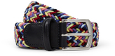 Andersons Anderson's 48 Woven Belt Navy