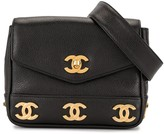 Chanel Pre Owned 1992 Triple CC belt bag
