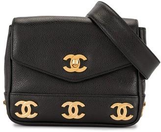 Chanel Pre Owned 1992 Triple CC belt bag
