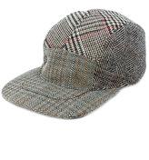 Stella McCartney multi pattern tweed cap