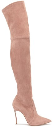 Casadei Blade thigh-high boots