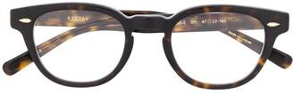Eyevan 7285 Webb oval frame sunglasses