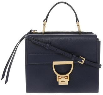 Coccinelle Arlettis Flap Over Navy Crossbody Bag