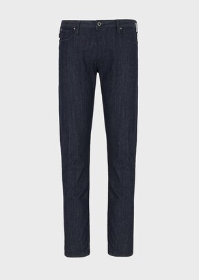 Emporio Armani J06 Slim-Fit, Super-Light Denim Jeans