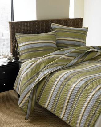 Stone Cottage Classic Stripe Cotton Quilt Set