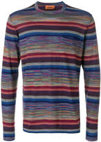 Missoni striped sweatshirt