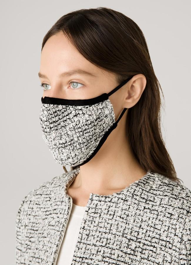 Thumbnail for your product : St. John Boucle Rib Knit Mask