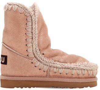 Mou Eskimo Shiny Shearling Boots