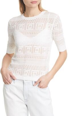 Frame '70s Open Stitch Sweater