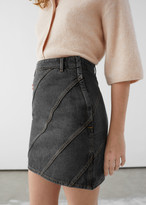 And other stories Organic Cotton Denim Mini Skirt