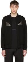 Fendi Black 'Bag Bugs' Bomber Jacket