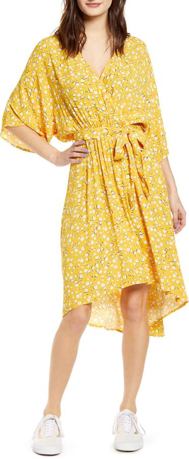 MinkPink Summer Daisy High/Low Dress
