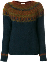 Mes Demoiselles textured pattern sweater