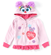 Freeze Pink Sesame Street 'Abby' Winged Zip-Up Hoodie - Toddler