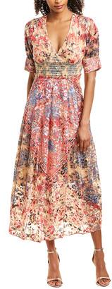 HEMANT AND NANDITA Mellona Maxi Dress