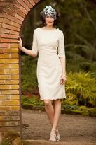 Shabby Apple With This Ring Sheath Dress Cream