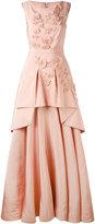 Talbot Runhof Mogul dress - women - Silk/Acetate/Cupro - 32