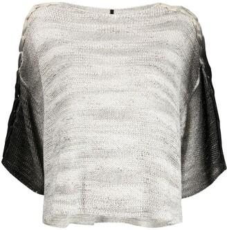 Pierantonio Gaspari Ombre-Effect Knitted Top