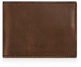 Shinola Distressed Slim Bifold Wallet