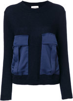 Semi-Couture Semicouture - front pockets jumper - women - Polyamide/Mohair/Wool - XS