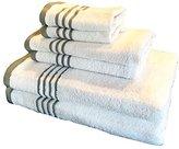 Metro 100% Cotton 6-piece Stripe Towel Set (Grey)