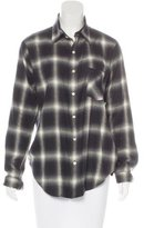 R 13 Boyfriend Flannel Top