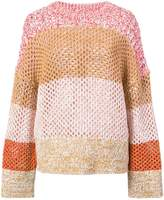Derek Lam 10 Crosby Colorblocked Gradient Sweater