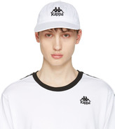 Kappa Ssense Exclusive White Logo Cap