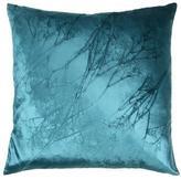 Baby's Breath on Peri Velvet Pillow
