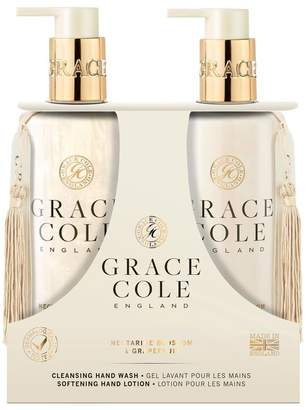 Grace Cole Nectarine Blossom & Grapefruit 300ml Hand Care Duo