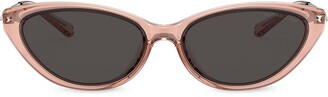 Michael Kors Cat Eye Frame Tinted Sunglasses