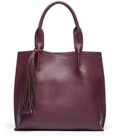 Sole Society York large tote w/ tassel
