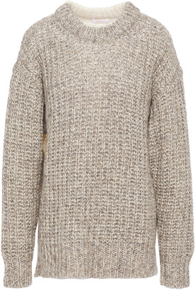 See by Chloe Two-tone Knitted Sweater
